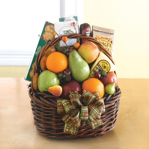 www.baskettude.com  Harvest Fruit for the health conscious . Send them the healthy gift.