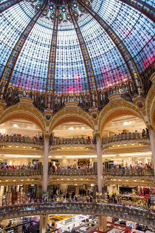 Paris Bucket List 45 Must Have Experiences In Paris Lafayette Paris Galeries Lafayette Paris Travel