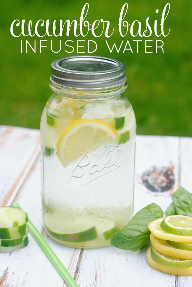 Drinking water is more fun when it's infused! This easy recipe combines a few of my favorite flavors along with ice cold water. Drink up!
