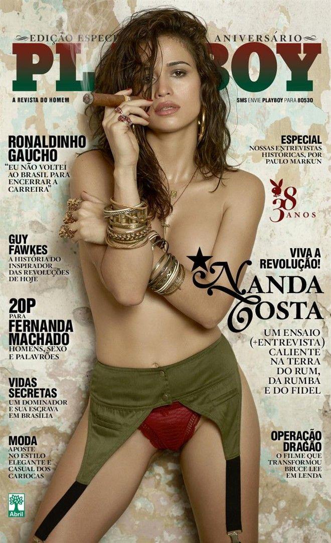 Playboy Agosto 2013 Nanda Costa
