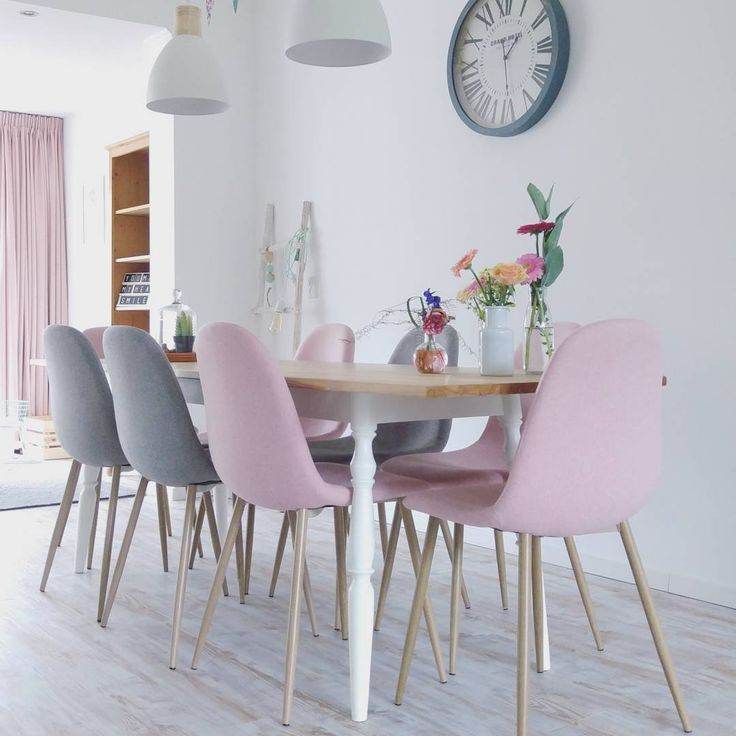 #Kwantum repin: Stoel Londen > https://www.kwantum.nl/meubelen-stoelen-eetkamerstoelen-stoel-londen-roze-1323183