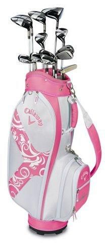 Callaway Womens Solaire II 14-Piece Complete Set Pink