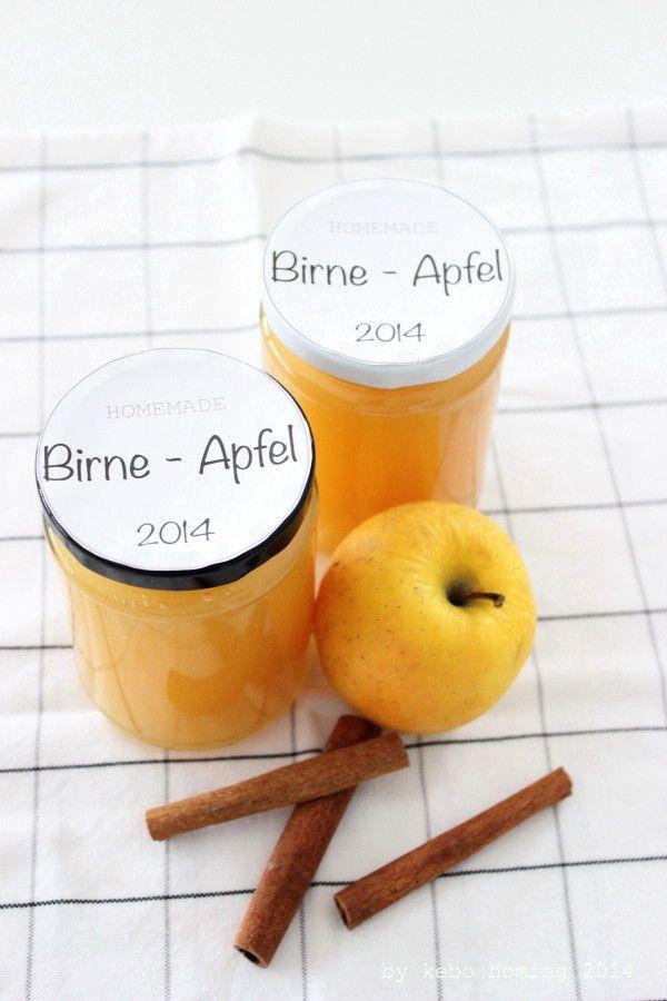 Apfel-Birnen-Marmelade