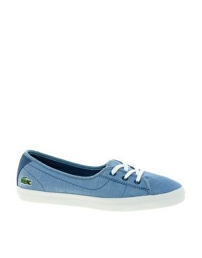 Image 1 - Lacoste - Ziane - Tennis à lacets et semelle épaisse - Camo bleu 66,28€