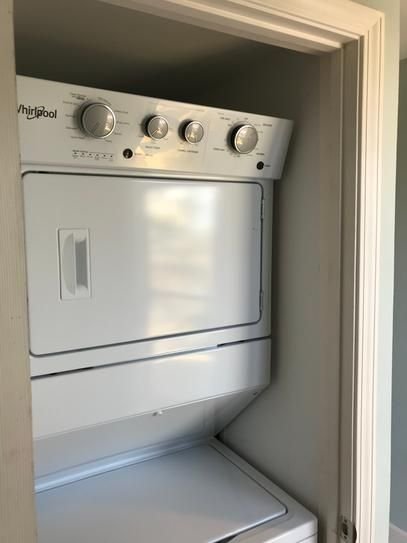 0e447f3c2d3 Whirlpool 3.5 cu. ft. Electric Stacked Laundry Center with 9 Wash cycles  and Auto Dry in White WET4027HW at The Home Depot - Mobile