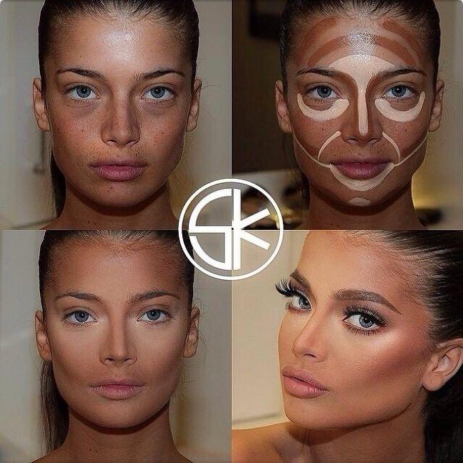 Megmutatjuk nektek az összes létező arcformát és a hozzájuk tartozó tökéletes sminkelés minden csínját - bínját teljesen egyértelműen és részletesen fotókkal lépésről lépésre. Nincs szükséged többé profi sminkesre, mikor Te magad is az lehetsz :) Próbáljátok ki Ti is! :) 7