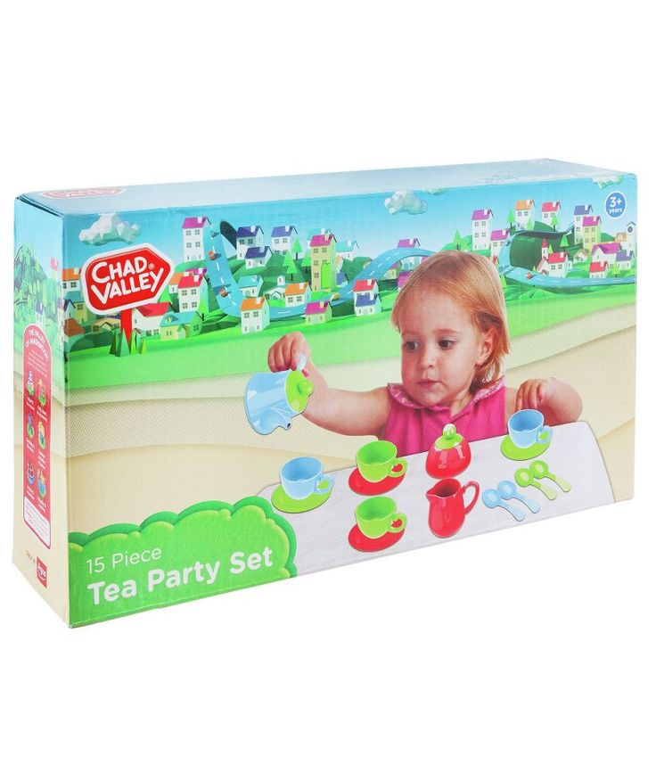 Buy Chad Valley Tea Set at Argos.co.uk - Your Online Shop for Activity toys, Cooking role play.