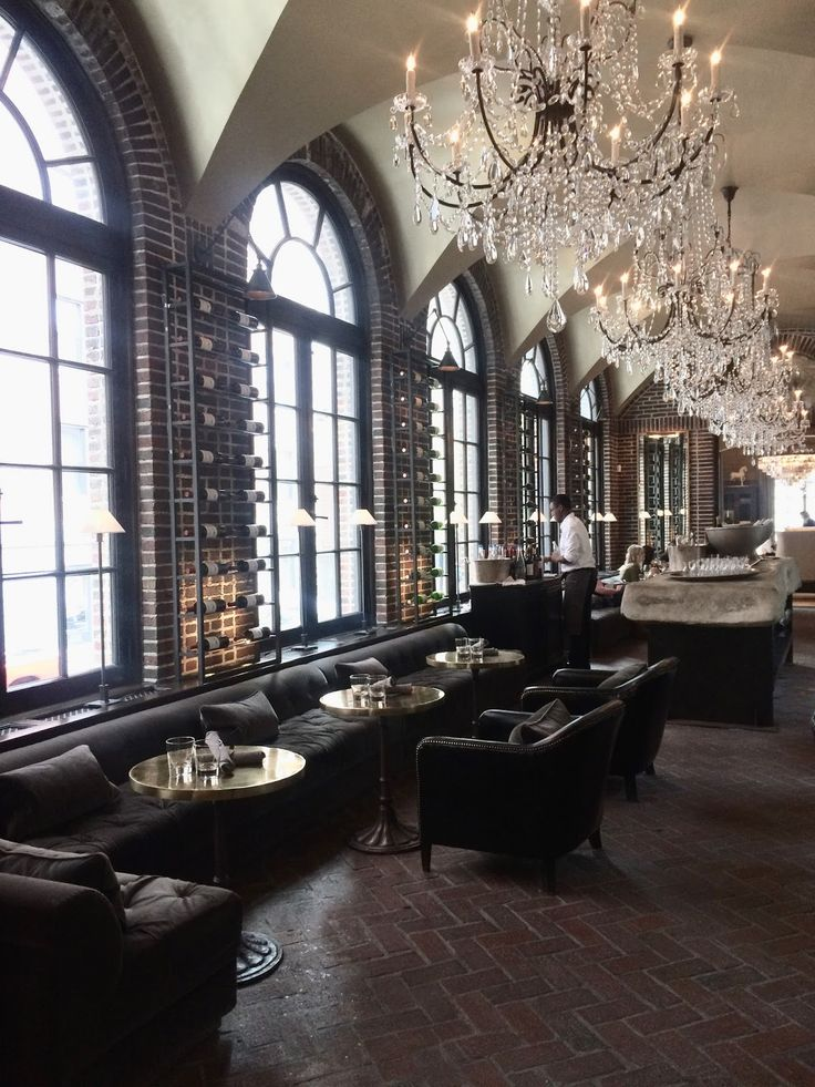 Restoration Hardware Cafe : Best bars restaurants images on pinterest interiors