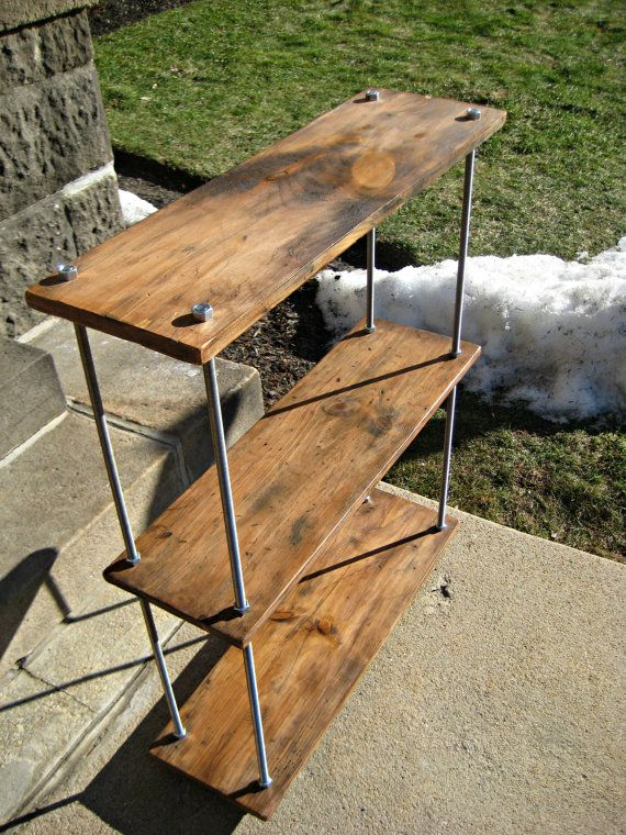 Hey, I found this really awesome Etsy listing at https://www.etsy.com/listing/241168765/reclaimed-wood-shelves-rustic-industrial