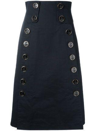 Dolce & Gabbana юбка с высокой талией