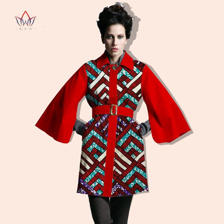2016 Winter Women Coat blazer African Print Dashiki Women Wax Bazin Riche robe woman Plus Size BRW Y714