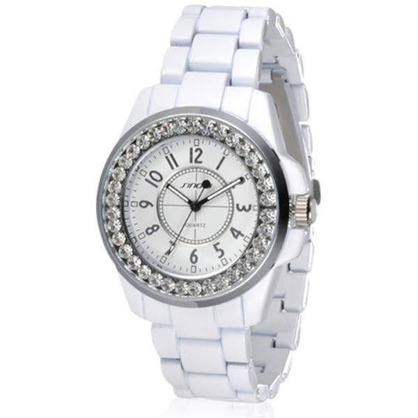 Neve Bianca - Bling Diamonds Rhinestone Luxury Ceramic Watch