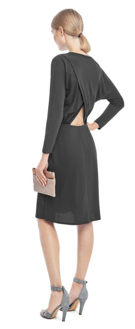 Drapey Back Detail Dress // Filippa K