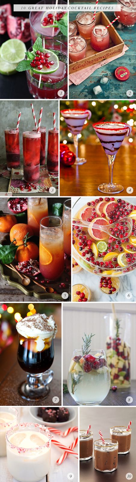 10 Great Holiday Cocktails