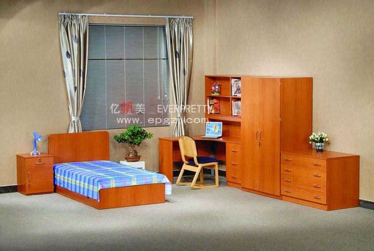 High Quality Wood Hotel Bedroom Furniture, Bed Room Set