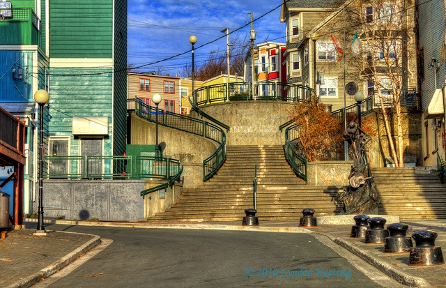 The End of George St, St. John's , Newfoundland by lyndon keating, via Flickr