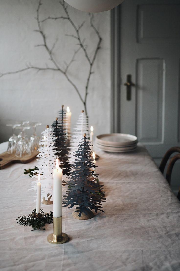 Juldekorationer i papper – Husligheter