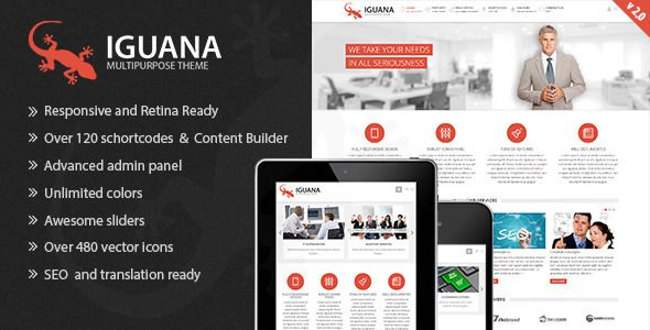See More Iguana - Responsive Multi-Purpose WordPress Themelowest price for you. In addition you can compare price with another store and read helpful reviews. Buy