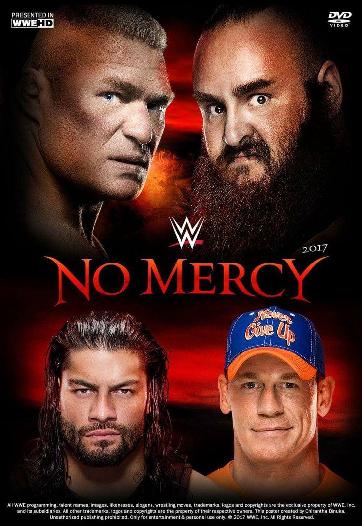 At No Mercy Brock Lesnar vs Braun Strowman for WWE Universal Champion while John Cena vs Roman Reigns