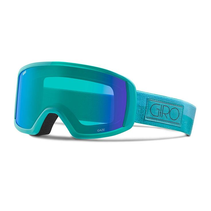 Giro Womens Gaze Snow Goggle, Turquoise/Turbulence Rails - Loden Dynasty