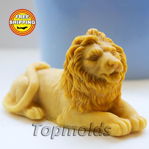 Material: Flexible Silicone Mold Name: Silicone Soap Mold - Lion 3D The weight and size of the finished soap of silicone molds: Lion 3D - 55g, 8х3,5х4,5 cm;.   eBay!