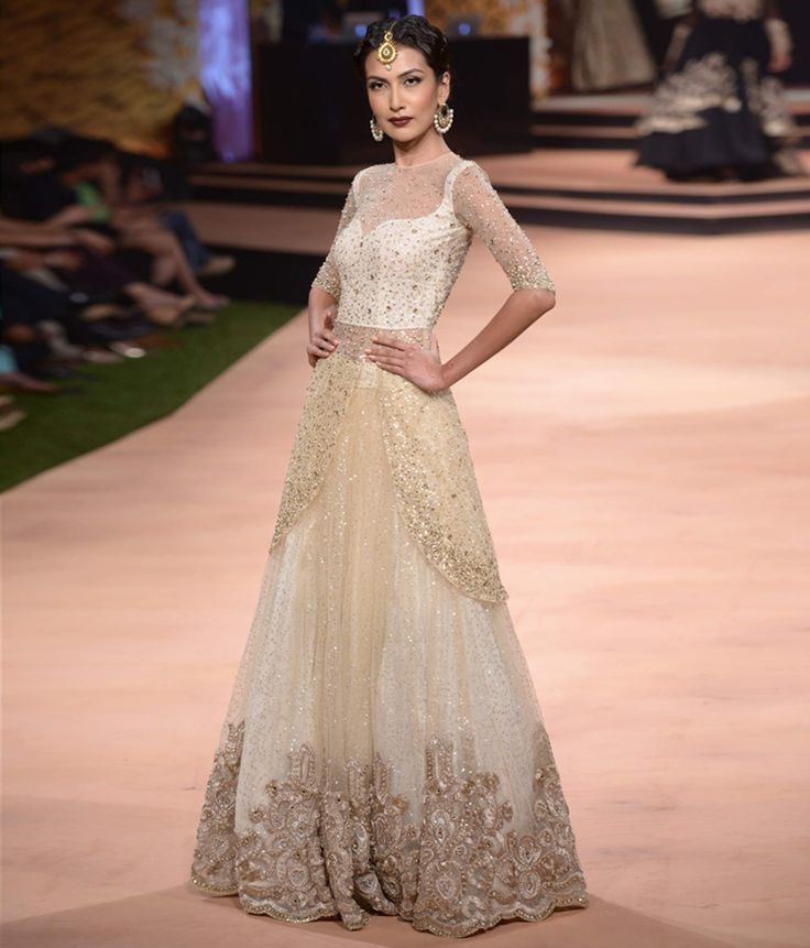 Neeta Lulla's Vintage 50s Collection. Love the skirt, the sequins, and the beautiful neckline.