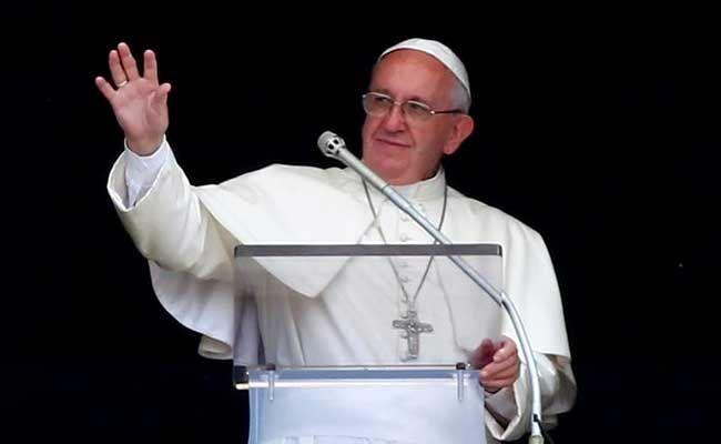'No God Of War', Pope Francis Says As Faith Leaders Meet