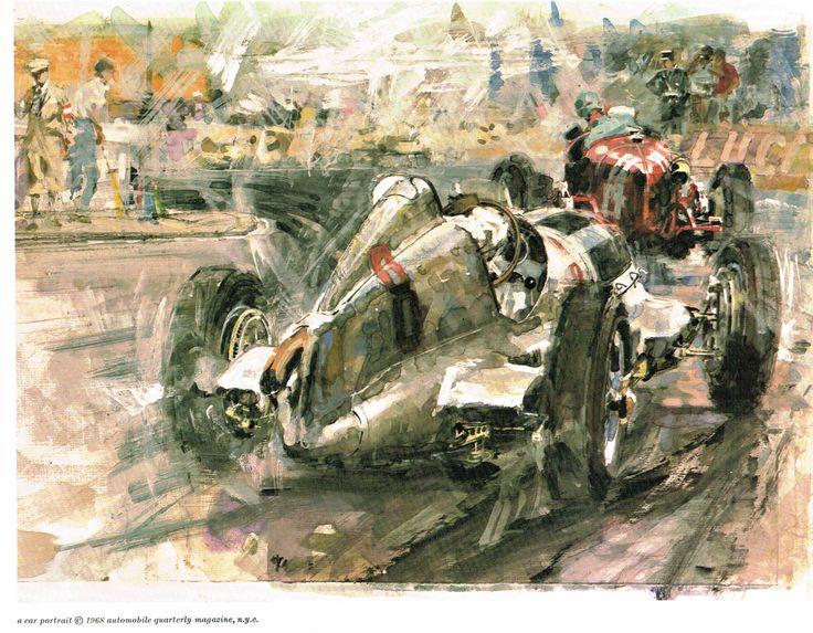 Rudolf Caracciola #14 Mercedes