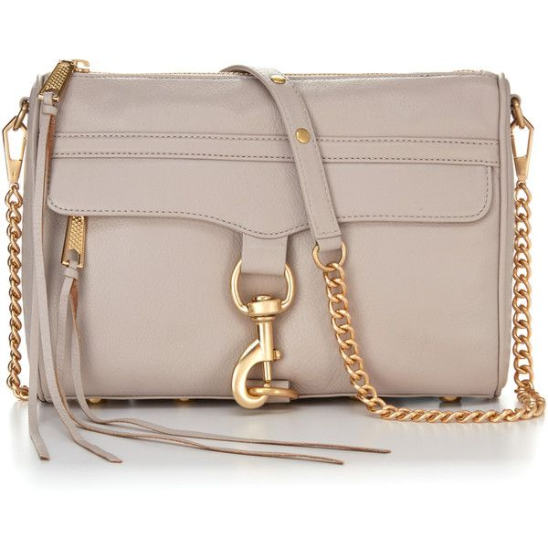 Rebecca Minkoff M.A.C. Crossbody (€180) ❤ liked on Polyvore featuring bags, handbags, shoulder bags, handbags crossbody, hand bags, crossbody handbags, rebecca minkoff shoulder bag and brown crossbody purse
