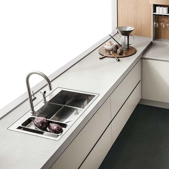 Italian Modern Design Kitchens - Emetrica by Ernestomeda