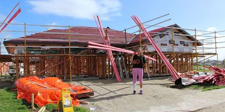 Liz started out holding a lollypop sign & is now a #business #manager & #roofing #apprentice see how she's #GotItMade http://gotatrade.co.nz/story/elizsabeth-watson/