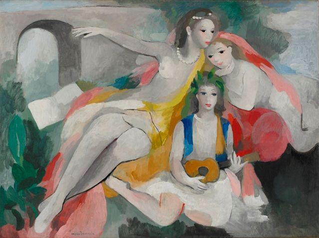 Trois jeunes femmes Marie Laurencin Paul Rosenberg