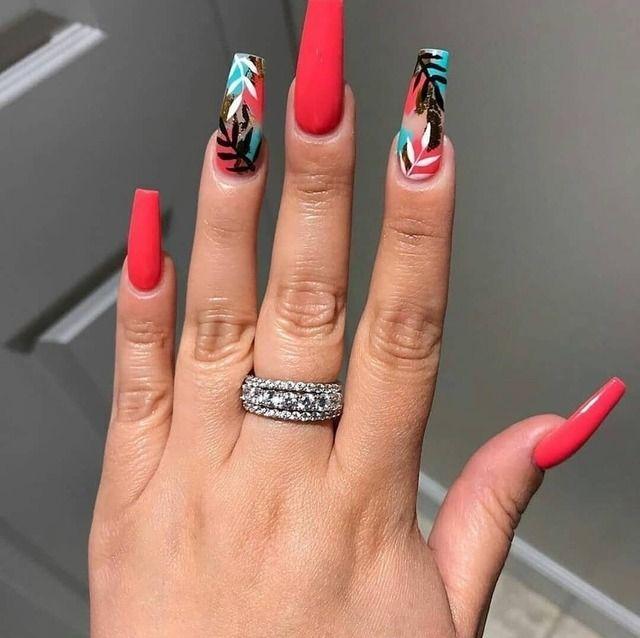 15 Color Changing Nail Inspirations Cool Nail Art Designs 2019 In 2020 Swag Nails Color Changing Nails Fashion Nails