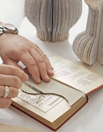 As vezes temos livros antigos em casa e não sabemos o que fazer com eles, pois muitos já estão rasgados e sem utilidade. Hoje OArtesanato traz para vocês uma dica de como fazer enfeites com livros reciclados para que você possa reaproveitar os seus livros. Mas se você nã