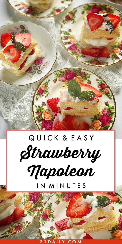 17 Best Ideas About Napoleon Dessert On Pinterest