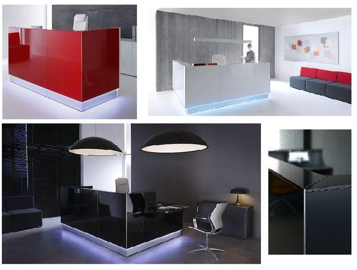 Linea reception desks