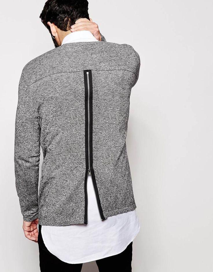 Lovin that - Sweatshirt with Zipper in the back - ASOS #asos #shirt #fashion…