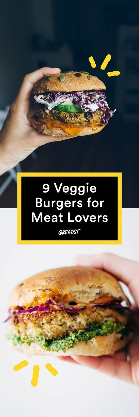 You wont even miss the beef. #healthy #veggieburger http://greatist.com/eat/veggie-burgers-even-meat-eaters-will-love