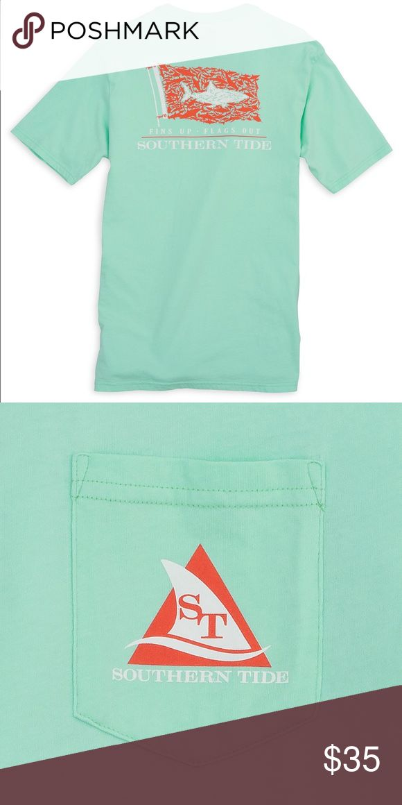 Southern Tide Shark Sighting Men's Shirt Brand new! Tags still attached. Southern Tide Shirts Tees - Short Sleeve