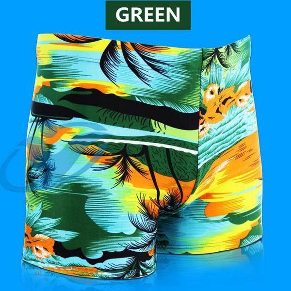 Men Coconut Palm Printing Swimming Trunks Sports Shorts Inner Boxers Swimwear at…