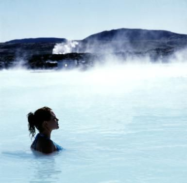 The Blue Lagoon in Iceland: Blue Lagoon in Iceland