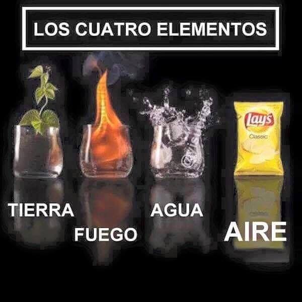 MIS 4 elementos, jajaja #memes #chistes #chistesmalos #imagenesgraciosas #humor http://www.megamemeces.com/memeces/imagenes-de-humor-vs-videos-divertidos