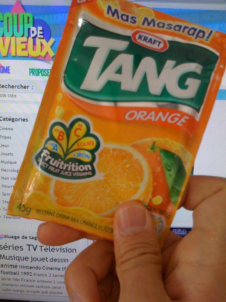 TANG, jus d'orange en poudre - Coup de vieux - Nourriture années 80 et 90