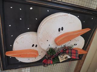 Here are more of the Snowmen we will have at the My Spare Time Designs Trunk Show, October 11th & 12th ...