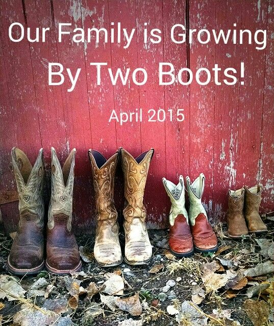 Country Baby Announcement