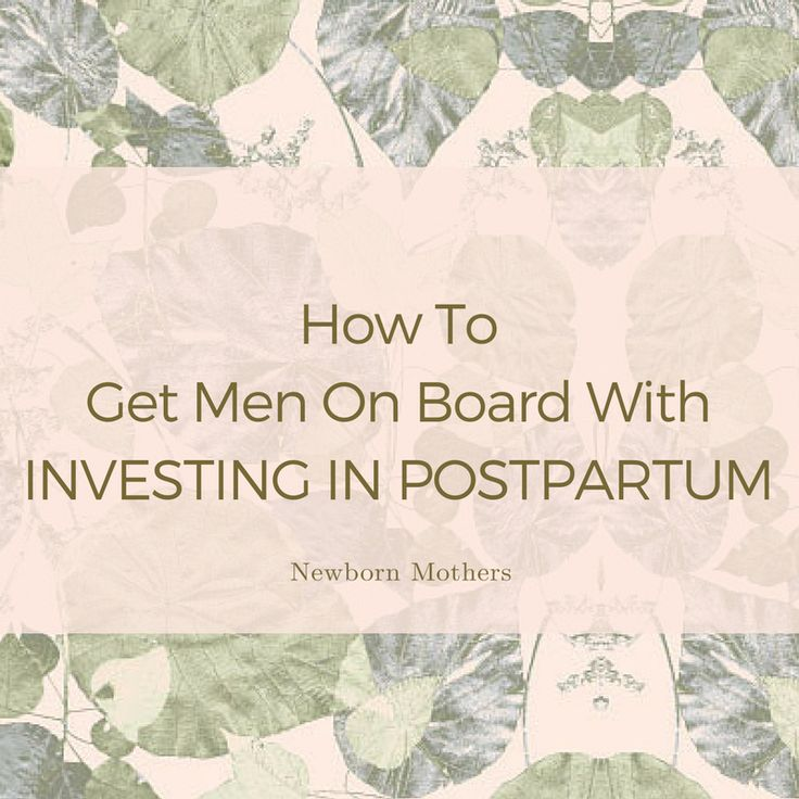 """Often a #mother is willing and ready to #invest in a #postpartum #doula, but experiences what I call the """"dad block"""". He doesn't get it yet..."""