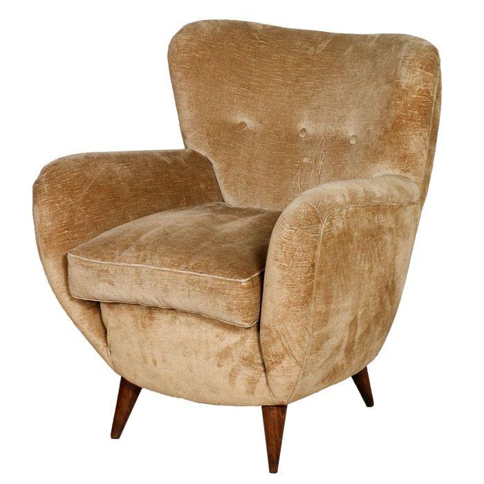 Art decò armchairs - poltrona design vintage... read more: http://mobiliartdeco.blogspot.it/2012/06/poltrona-uovo-art-deco-design-armchair.html