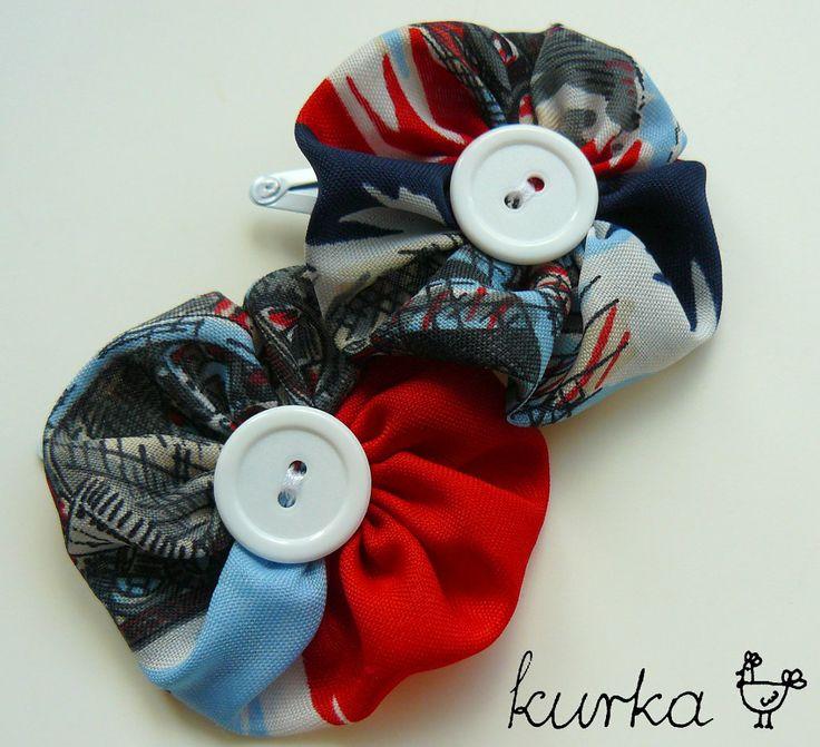 gumki handmade by kurka - kwiaty
