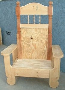 1000 images about santa chair on pinterest red velvet for Throne chair plans