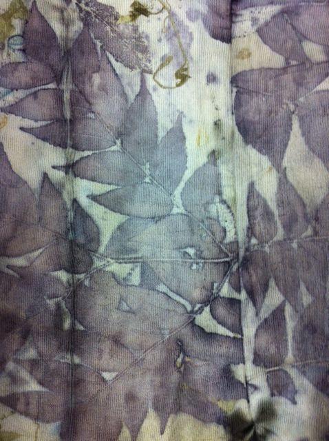 India Flint website hand dyeing fabrics